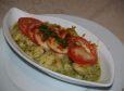 Krompirjevi njoki s pestom in mozzarello