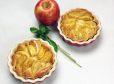 Jabolčni kolač iz umešanega testa