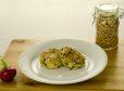 Tofujev hlebček s čemažem in müslijevo skorjo