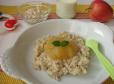 Hrana za dojenčke: Polnozrnata mlečna kašica z jabolkom