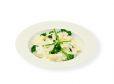 Rižota s šparglji in brokolijem