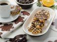 Čokoladni piškoti iz krhkega testa