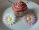 Cupcakes mit Himbeertopping