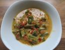 Okra-Kokosnuss-Curry