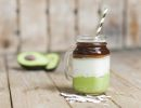 Avocado Coffee im Glas