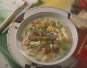 Cabanossi-Brunch-Suppe