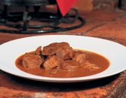 Goulash with sauce