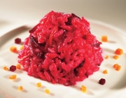 Risotto rosso (Rotweinrisotto)