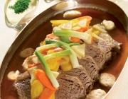 Tafelspitz (Boiled Beef) with classic side dishes