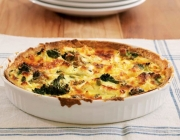 Brokkoli-Feta-Quiche