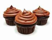 Cupcakes Topping mit Ganache