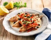 Die besten Rezepte zu Schnelle Küche Vorspeise warm Meeresfisch ...