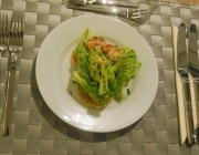 "Avocado-Garnelen-Salat mit Aarons ""Speed Dressing"""