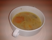 Fisolen-Karotten-Suppe