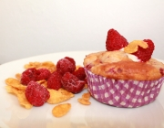 Himbeer-Cornflakes-Muffins