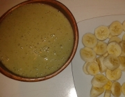 Lockere Bananen-Salat-Suppe