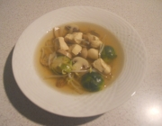 Pilzsuppe Asiastyle