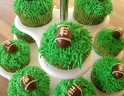 American Football Cupcakes