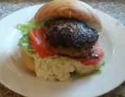 Greek-Style Burger