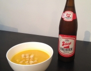 Kürbis-Bier-Suppe