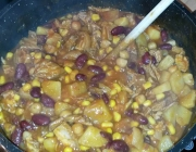 Chili mit Kichererbsen