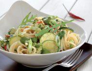 Zucchini-Kräuter-Spaghetti