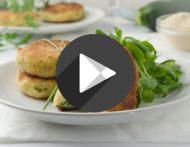 Video - Erdäpfel-Zucchini-Laibchen