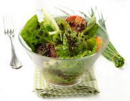 Linsen im Salat