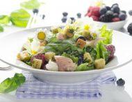Salate mit Fisch & Fleisch