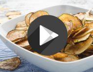 Zucchini-Parmesan-Chips
