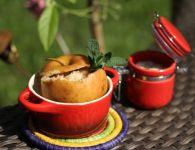 Jabolko z marcipanom...