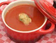 Paradižnikova juha s...