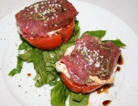 Carpaccio s pestom,...