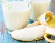 Bananin smoothie
