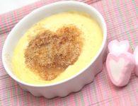 Crème brulee z araši...