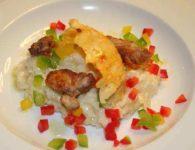 Piščančja rižota s c...