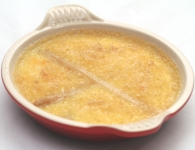 Crème brulee s šparg...
