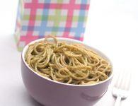 Špageti s čemažem