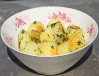 Krompir s peteršilje...