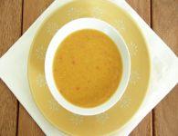 Rdeča lečina juha iz...