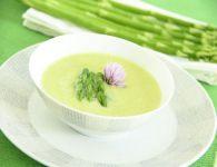Špargljeva juha z li...