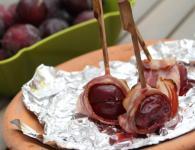 Češplje s slanino