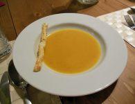 Kremna bučna juha in...