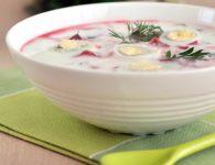 Hladna juha z rdečo...