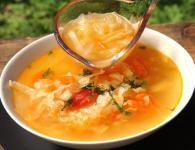 Zeljna juha za hujša...