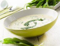 Špargljeva juha s če...