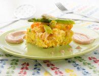 Špargljeva omleta s...
