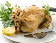 Polnjen pečen piščan...