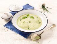 Kremna juha z zelišč...