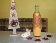 Božični jajčni liker